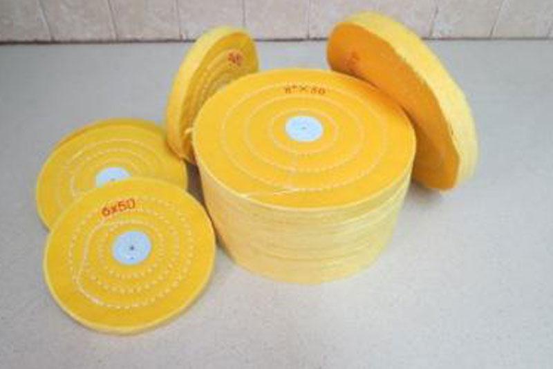 גלגל ליטוש צהוב